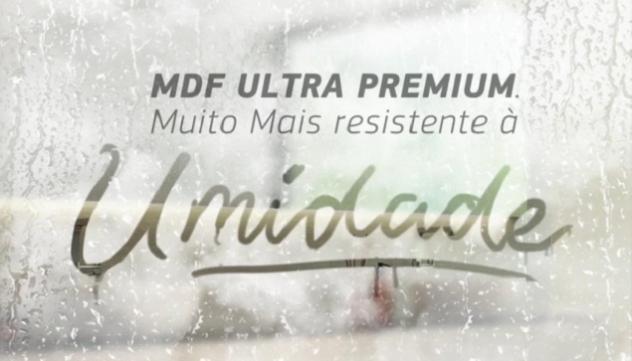 MDF Ultra Premium: muito mais resistência à umidade